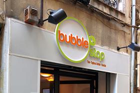Devanture du Bubble Stop à Aix-en-Provence