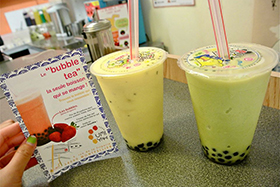 Bubble smoothies