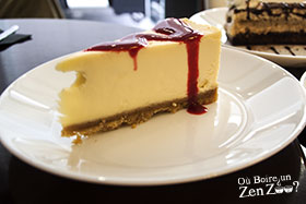 New York Cheese Cake de chez Beauthé