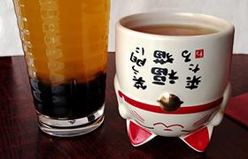 Nouveau verre styler (manekineko) de chez Momo 茶  par Swop