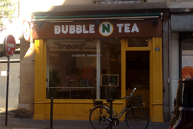 Devanture du Bubble N Tea