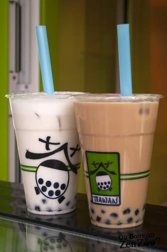 Bubble Tea classique et coco